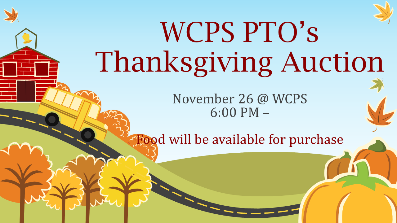 WCPS Thanksgiving Auction