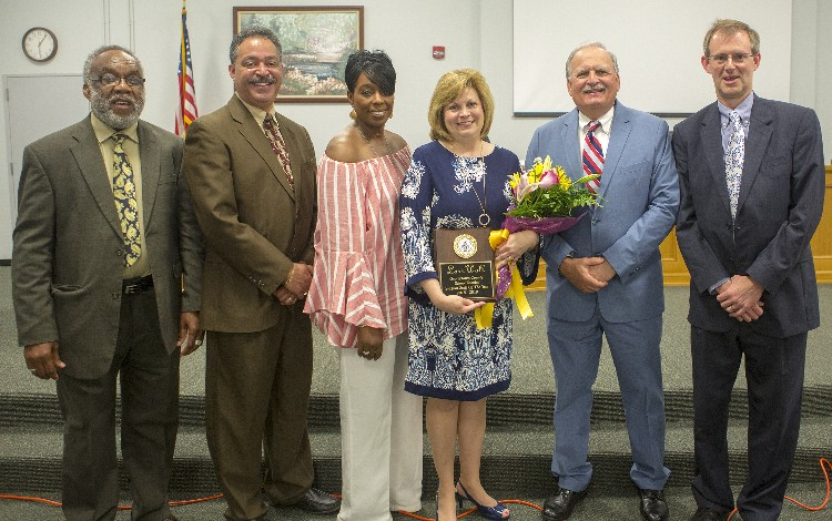 Support Staff of the Year Lori Wall