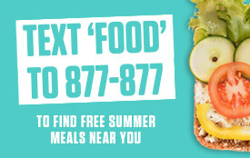 Text Food to 877-877