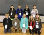 5th Grade Spelling Bee Competitors