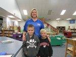 Colt, Landon, and Ms. Elrod