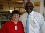 Ms. Jama Kirkland and Dr. Rowland Cummings