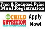 Free & Reduced Lunch - Apply Now