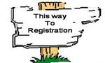 This way to registration!