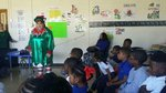 Pam the Elf Reads to 1st Graders