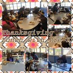 Pre-K Thanksgiving Lunch