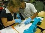 Third Grade Students Investigate Bones