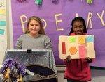 students present on poets