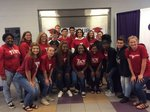 GHS Gear Up students at signing day