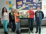 FBLA provided a family with Thanksgiving meal.