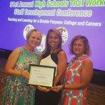 SREB teachers receiving award