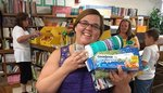 Ms. Parsons gets supplies for her class