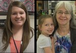 Kimberly New- Teacher of the Year/ Alicia Petty Teacher Assistant of the Year