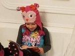 Makayla Lee Reads in the Tub