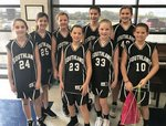 Pictured are Isabella Leverett, Anna Kate Joyner, Laura Cate Harris, Riley McRee, Reese Graft, Peyton Horn, Mary Adelaide Yeiser, and Sarah Kate McRee