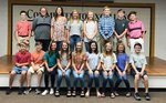 Pictured are the new Jr. High Beta Club`s new members.
