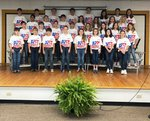 Pictured are Southland Academy fifth graders at their D.A.R.E. Graduation