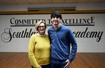 Pictured are Mrs. Patty Webb and Tyler Joyner.