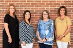 New faculty members pictured are Mrs. Jolie Ledger, Ms. Mallory Wiggins, Mrs. Tammy Dingler and Mrs. Amy Shattles.