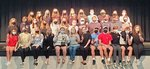 Pictured are members of the One Act Play`s cast and crew.