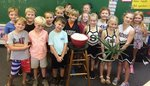 Pictured are first graders in Mrs. Peggy Roquemore`s class.