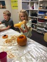 STEM class enjoys making slime.
