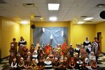 5K Classes Enjoy Thanksgiving Feast