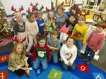 Pictured are students in Mrs. Clayton's K4 class.