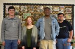 Pictured are Adam Hanley, Carley Codner, Timothy Powell, and James Shutters.