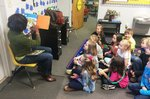 Pictured are Southland first graders as they enjoy