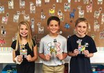 Pictured are Reeves Young, Hays Hagerson, Savannah Grace Ewing.