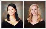 Pictured are Louise Quillope and Ashley Ansley.