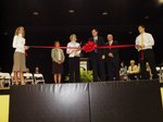 Ribbon Cutting Ceremony for the Melvin T. Kinslow Gymnatorium and the Bruce Baldwin Lobby