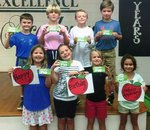 Pictured are Tillman Fowler, Gracie Usher, Braylyn Israel, Ava Nieto; Colton Crawford, Connor Ash, Mac Roberson, Max Kelley