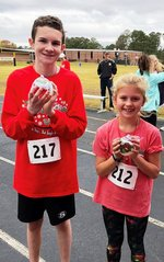 Pictured are Matthew Peck and Amelia Kinnebrew.