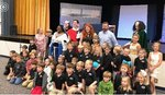 Pictured are Southland Academy`s 5K classes as they enjoyed the play Enchanted.