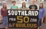 Pictured are Olivia Perry, Jackson Parker, Karleigh Werling, Sam Usrey and Karson Duke.