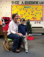 Pictured are Tripp Duncan and his Nana.