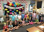 Pictured is Mrs. Robin Brock`s 5K class.