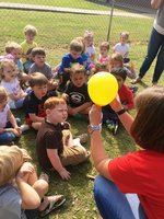 Pictured:  Southland Academy K3 students enjoying STEAM Day.