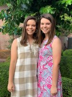 Pictured are Southland Academy 2019 Seniors Laney Griffin and Lauryn Griffin.