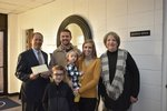 The Walker Family Makes Annual Fund Donation