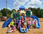 Pictured are both Mrs. Angie Jones' and Mrs. Robin Brock's kindergarten classes.