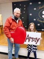 As a Veterans Day tribute, Kathlyn Short honors her grandfather, Coach Bobo Short, who served in the Army.