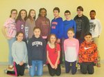 February 2017 Students of the Month