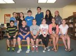June 2015 Students of the Month