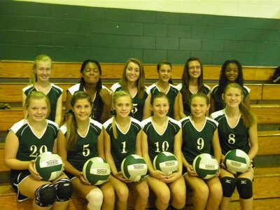 Middle School Volleyball 2013