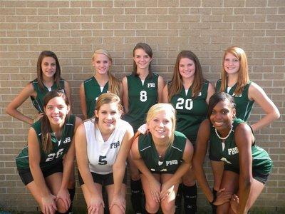 2013 Varsity Volleyball