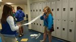 View measuring vital capacity of lungs