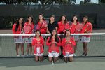 2019 Varsity Girls Tennis Team